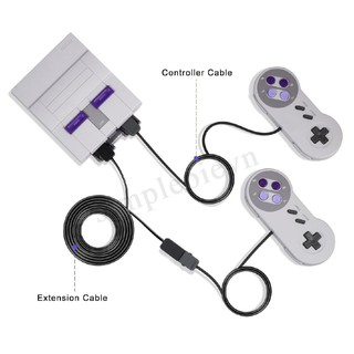 ✿♠2 cáp mở rộng mini cho Nintendo SNES Classic Edition