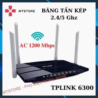 Bộ phát wifi TPLINK 4 râu băng tần kép chuẩn AC 1200 Mbps sóng xuyên tường, Modem wifi – Like New 95%