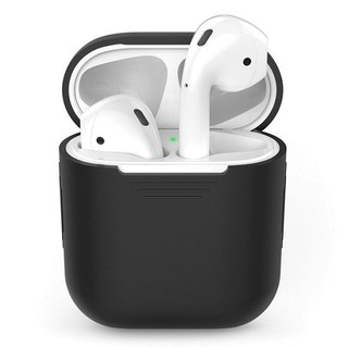 (ẢNH THẬT) CASE SILICON CHỐNG SHOCK CHO TAI NGHE APPLE AIRPODS I-SMILE