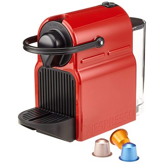 [FREESHIP EXTRA] Máy pha cà phê viên nén Nespresso Inissia – Red