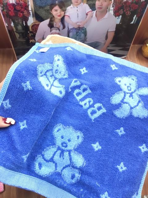 Khăn bông cotton cho bé và gia đình