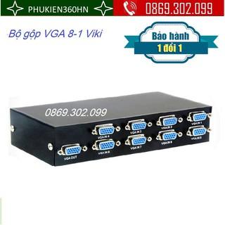 Bộ gộp VGA 8 in 1 out chính hãng MT-VIKI thumbnail