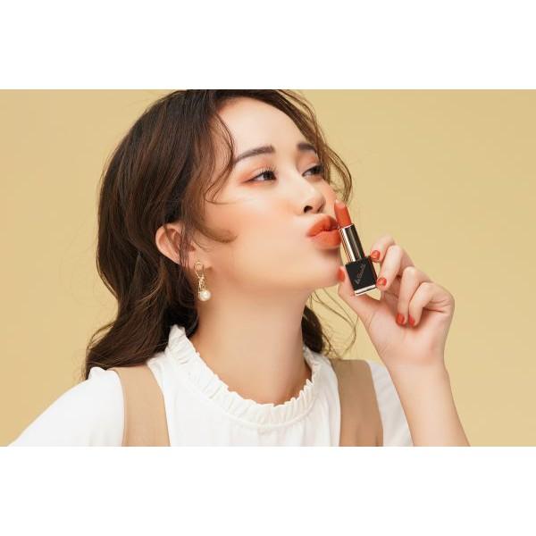 Son môi đẹp JU:CY La Beauté- Jazzy brick Hàn Quốc chính hãng cao cấp