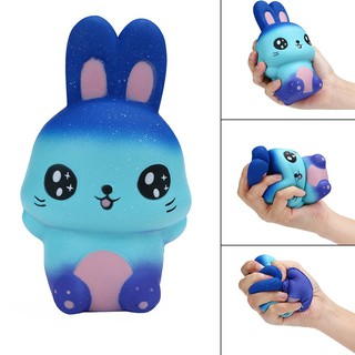 Starry Sky Squishy Rabbit Squeeze Slow Rising Relieve Stress Kids Adult Toy A29