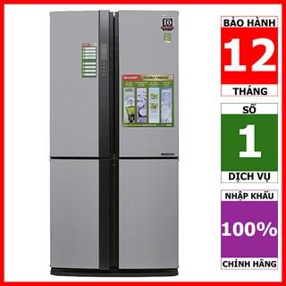 SJ-FX631V-SL | SJ-FX630V-ST | SJ-FX630V-BE | Tủ lạnh 4 cửa Sharp Inverter 626 lít (Hàng chính hãng, bảo hành 12 tháng)