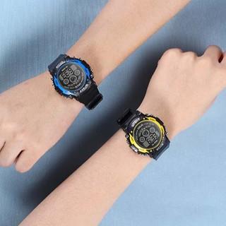 Đồng hồ điện tử nam nữ Sport p015 đèn led nhiều màu cực đẹp, full chức năng