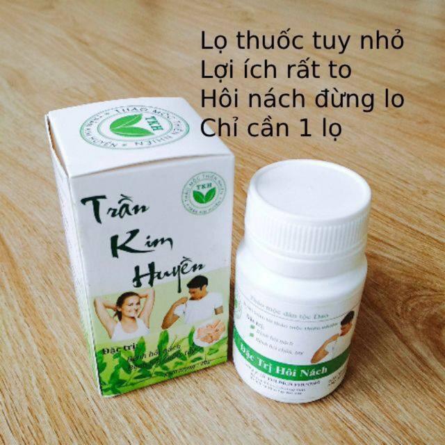 Trần Kim Huyền đặc trị hôi nách ,thâm nách ,mồ hôi tay chân