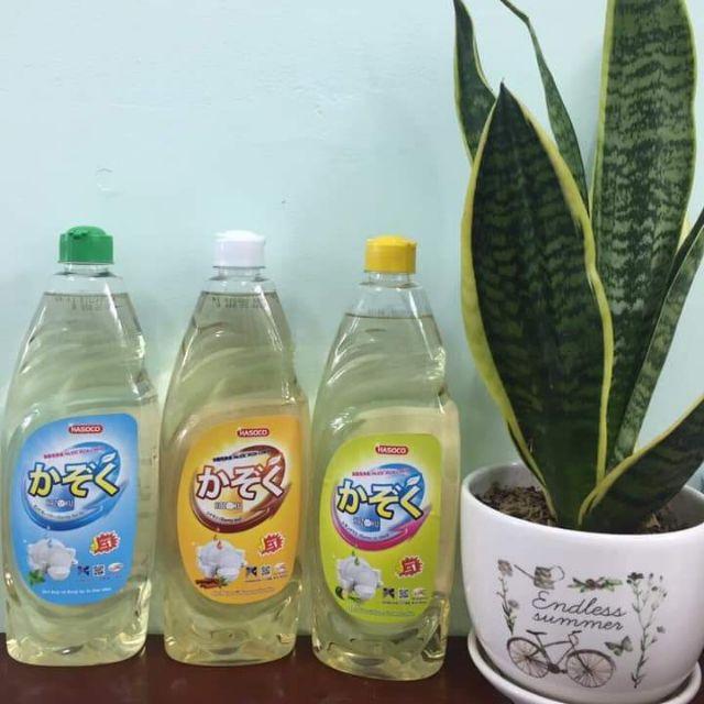 Nước rửa chén. Nước lau sàn nước giặt công nghệ Nhật Bản