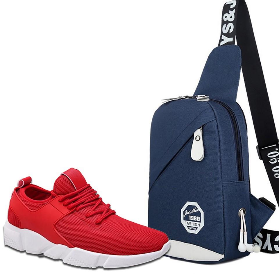 40% GIẢM Combo Giày Thể Thao Sneaker BTN13 Đỏ + Túi Đeo Chéo Thời Trang ( Xanh) - 2782646 , 1106989429 , 322_1106989429 , 232000 , 40Phan-Tram-GIAM-Combo-Giay-The-Thao-Sneaker-BTN13-Do-Tui-Deo-Cheo-Thoi-Trang-Xanh-322_1106989429 , shopee.vn , 40% GIẢM Combo Giày Thể Thao Sneaker BTN13 Đỏ + Túi Đeo Chéo Thời Trang ( Xanh)