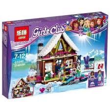 Lắp ráp xếp hình lego Lepin 01040 Bela 10731 Friends 41323 Snow Resort Chalet Xếp hình Nhà gỗ khu trượt tuyết