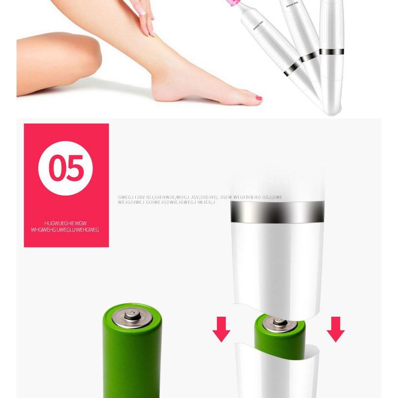 máy cạo lông Veet Sensitive Precision-máy cạo -Chân - Nách - Mày - Bikini - Râu - hàng nhập