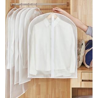 Garment Suit Bag Clothes Dust Cover Transparent Waterproof Hanging Clothes Storage Dustproof Bag