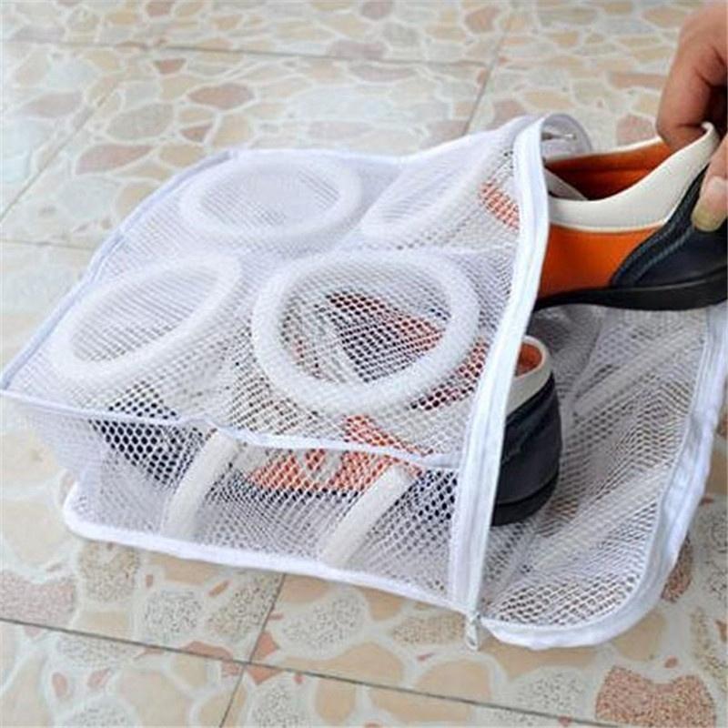 Túi Lưới Giặt Phơi Giày Thoáng Khí Tiện Lợi