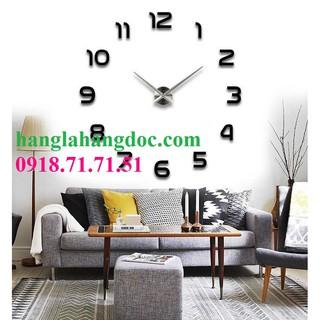 Đồng hồ dán tường DIY cỡ lớn, phong cách cổ điển & sang trọng Version 1