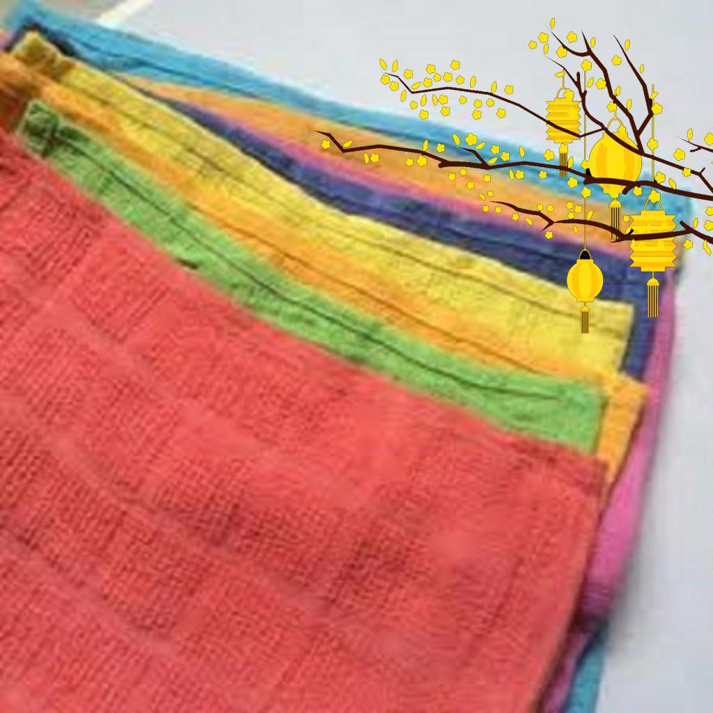 Bộ 10 khăn lau 30cm Rẻ - AZ - 000203