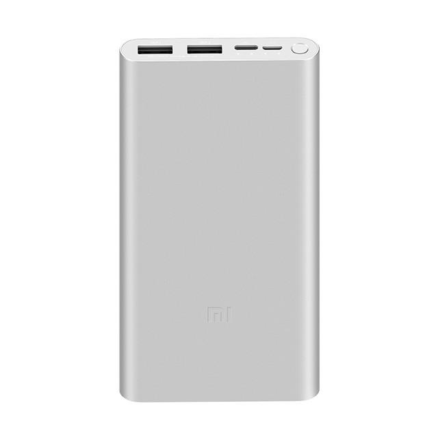 Pin Sạc Dự Phòng Xiaomi Gen 3 Version 2019 Polymer 10000mAh Tích Hợp Cổng Type-C