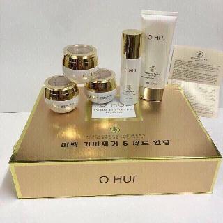 Bộ mỹ phẩm OHUI cao cấp Hàn Quốc ( Bộ 5 sản phẩm đặc trị nám, tàn nhang, làm trắng da )