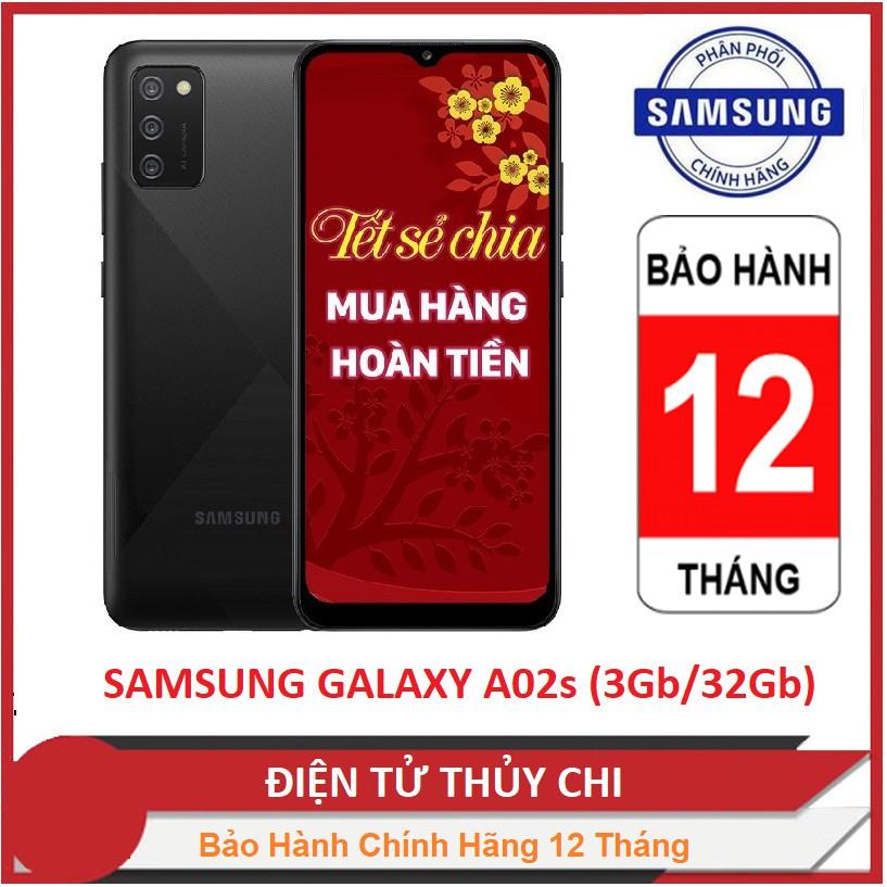 Điện thoại Samsung Galaxy A02s (3GB/32GB) - Hàng Chính Hãng Mới