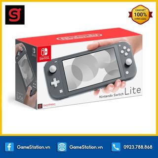 Máy Chơi Game Nintendo Switch Lite - Màu Gray thumbnail