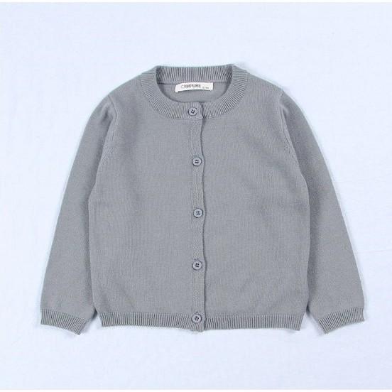 Áo Khoác Thun Len Mỏng Quảng Châu Cho Trẻ Em từ 8-15kg
