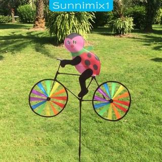 [SUNNIMIX1]Plastic Windmill Pinwheel Wind Spinner Kids Toy Lawn Garden Party Decor