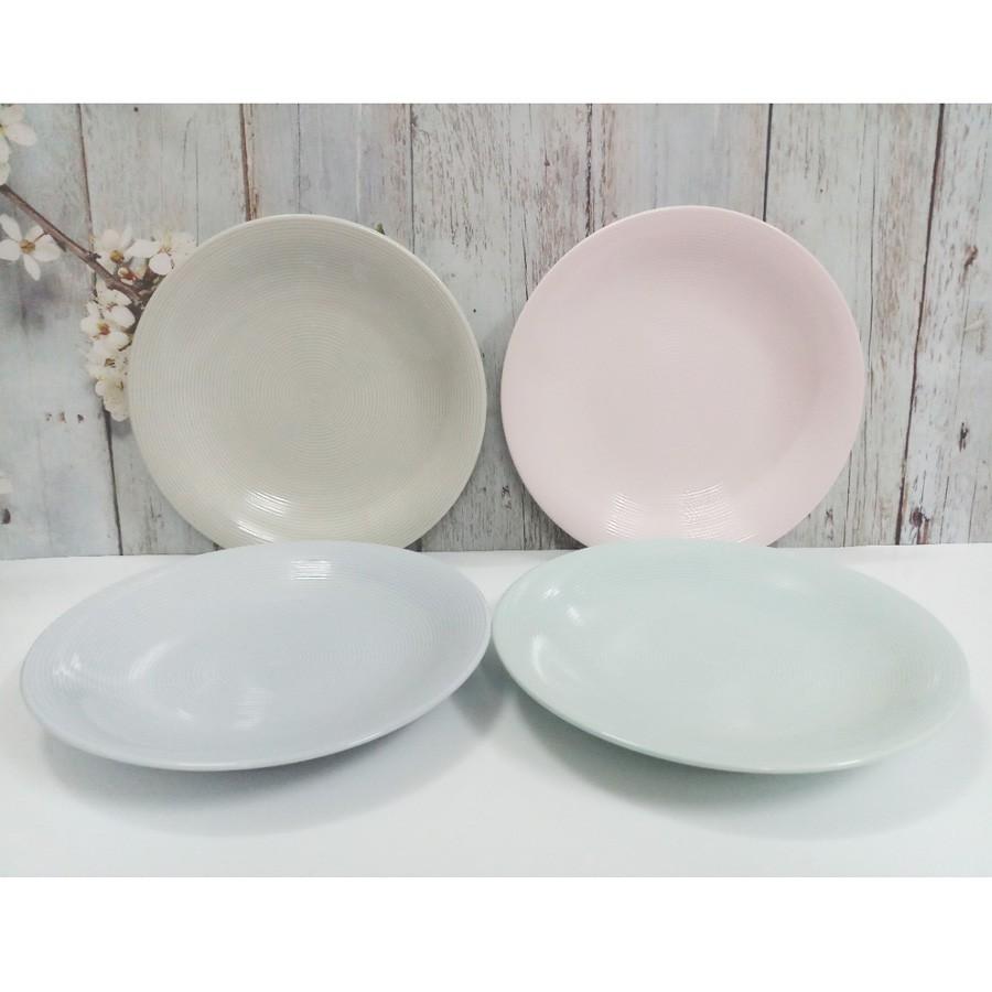 Bộ 4 dĩa sứ màu pastel vân xoắn ốc cao cấp DongHwa - 2707726 , 1046493899 , 322_1046493899 , 120000 , Bo-4-dia-su-mau-pastel-van-xoan-oc-cao-cap-DongHwa-322_1046493899 , shopee.vn , Bộ 4 dĩa sứ màu pastel vân xoắn ốc cao cấp DongHwa