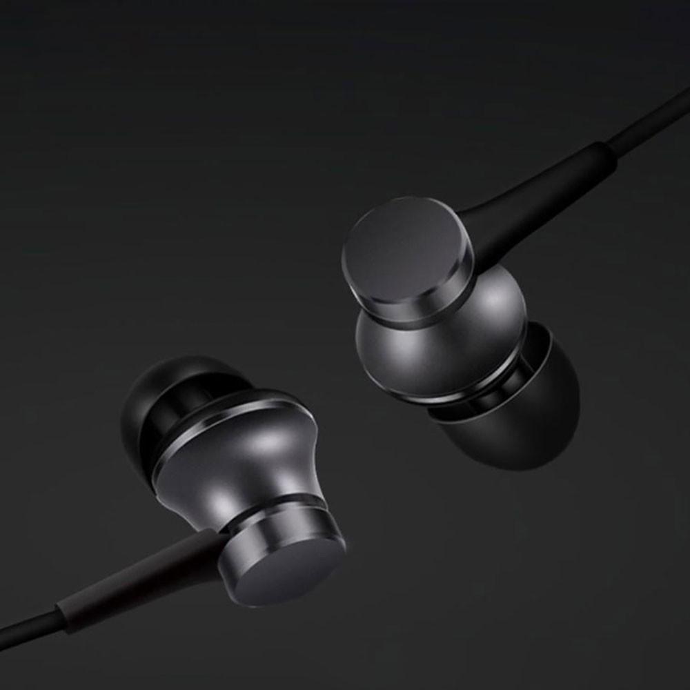 Tai nghe Xiaomi Piston Lite 2017 jack 3.5mm có mic vỏ nhôm nguyên khối - Bảo hành 6 tháng