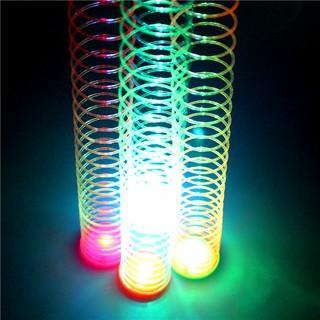 Yêu ThíchLò xo ma thuật cầu vồng có đèn 5cm (loại 1) siêu cool - Đồ chơi vận động