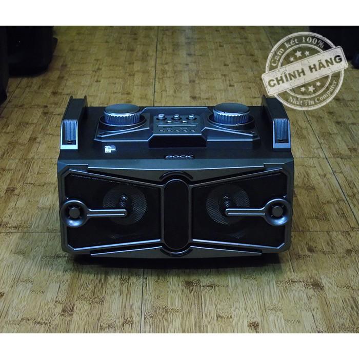 Loa xách tay Buetooth cao cấp Karaoke BOCK K605 - Sử dụng nguồn trực tiếp 220V (Đen)