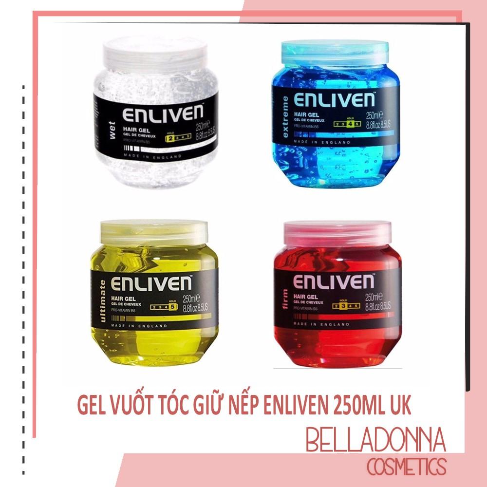 [Chính Hãng] Gel vuốt tóc giữ nếp Enliven Hair Gel - 250ml