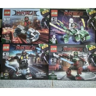 SET Lego The NINJAGO MOVIE 2 trong 1 JLB 3D44-1/4H