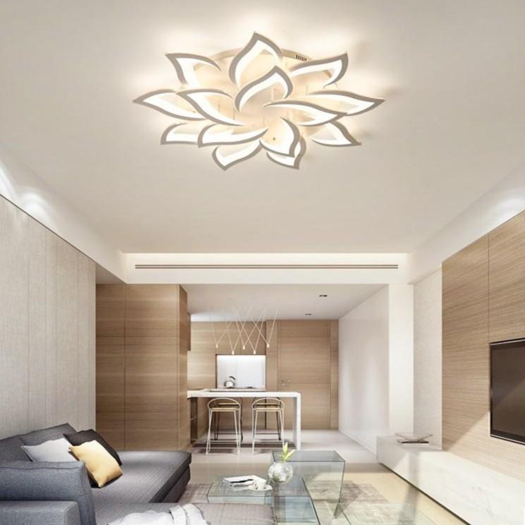 Đèn trần MONSKY 3 chế độ sáng GARE - có điều khiển từ xa tiện dụng
