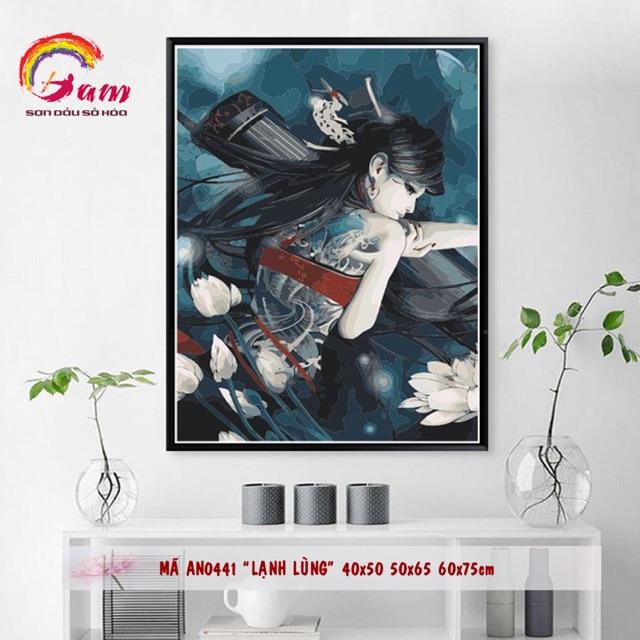 Tranh sơn dầu tự tô kỹ thuật số DIY Anime - Mã AN0441 Lạnh lùng - KT 40x50cm (Khung) - 3369957 , 1053589955 , 322_1053589955 , 220000 , Tranh-son-dau-tu-to-ky-thuat-so-DIY-Anime-Ma-AN0441-Lanh-lung-KT-40x50cm-Khung-322_1053589955 , shopee.vn , Tranh sơn dầu tự tô kỹ thuật số DIY Anime - Mã AN0441 Lạnh lùng - KT 40x50cm (Khung)
