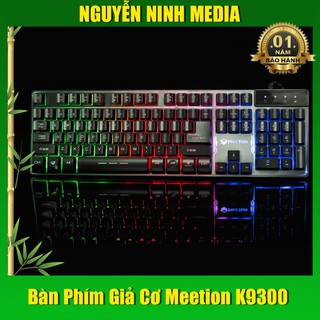 BÀN PHÍM GIẢ CƠ GAMING MEETION K9300 ( CHỐNG NƯỚC ) - HÀNG CHÍNH HÃNG thumbnail