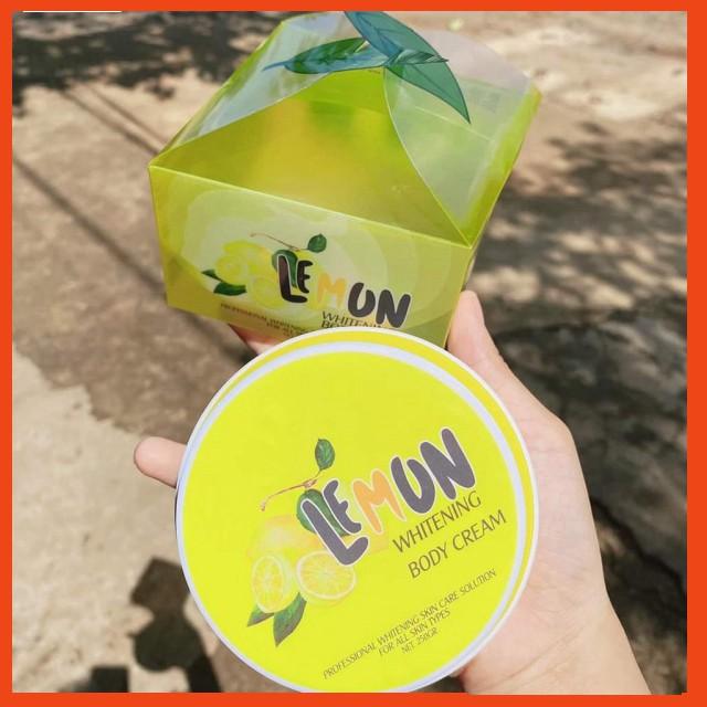 Body Chanh - Body Lemon whitening body cream LADIES - QLADY