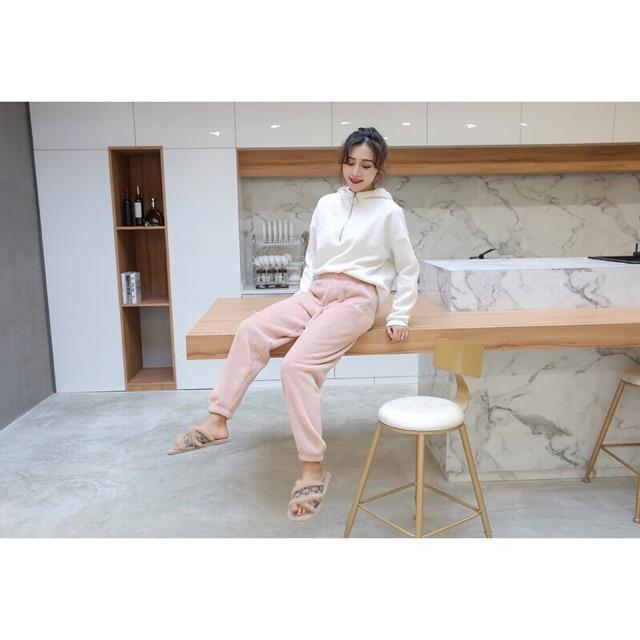 Quần D'studio nữ xuất Nhật siêu ấm siêu dày | BigBuy360