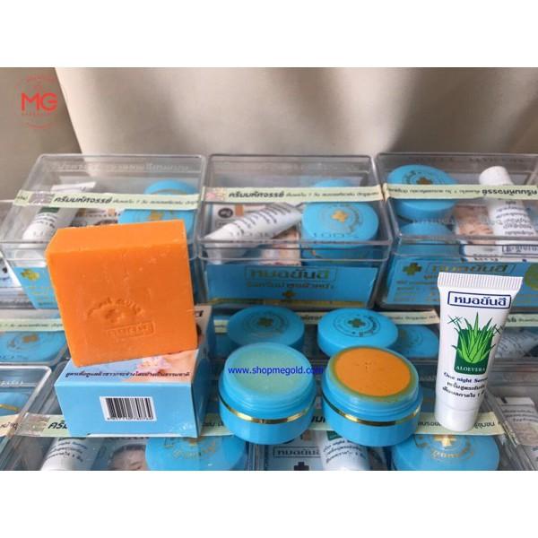 (chính hãng ) Bộ sản phẩm đặc trị mụn Thái Lan