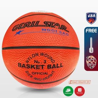 Banh bóng rổ cao su Gerustar (Cam) - Size 3 thumbnail