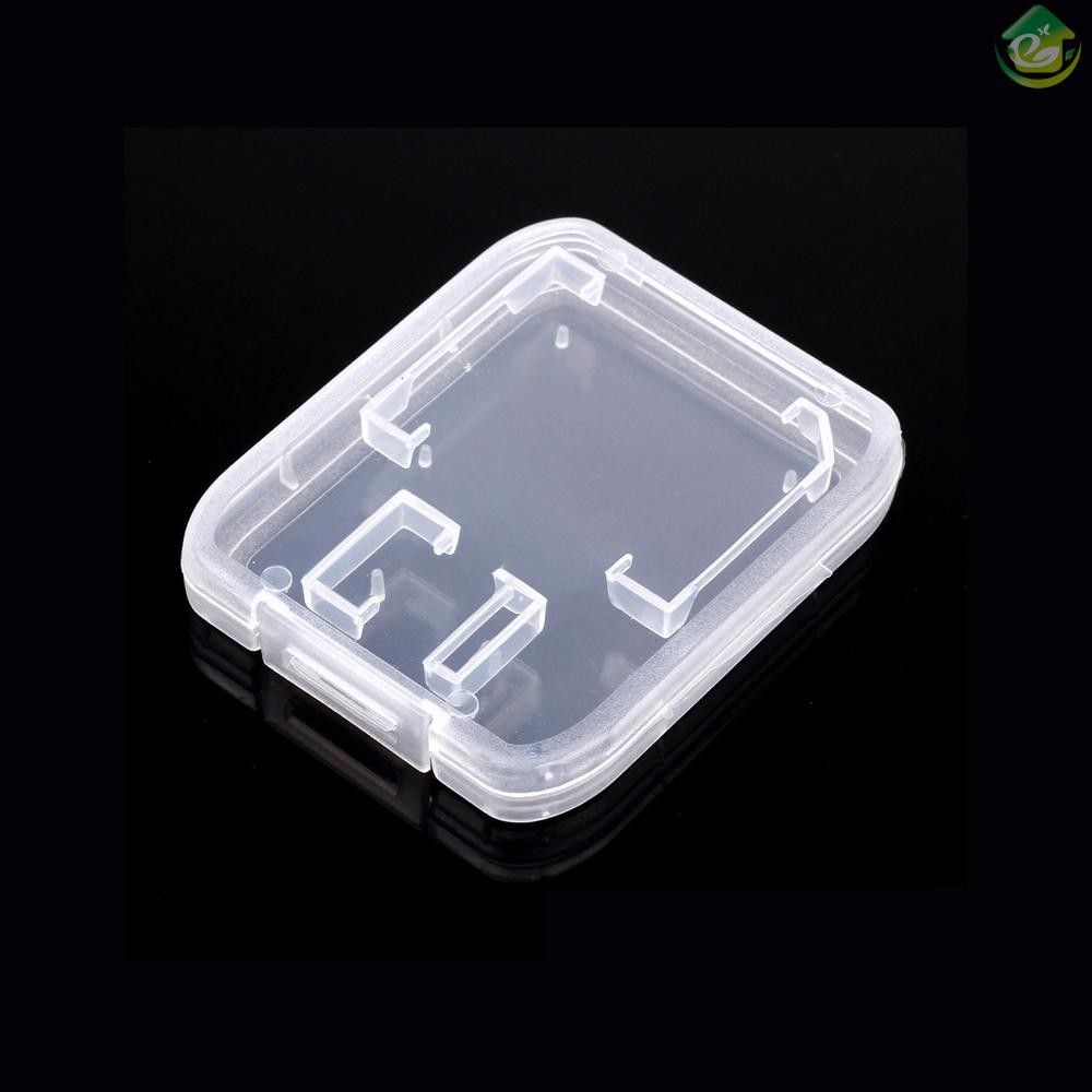 Hộp Đựng Thẻ Nhớ Sdhc Bằng Nhựa Trong Suốt