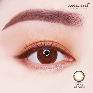 Kính áp tròng màu nâu tự nhiên Angel Eyes OPAL BROWN chất liệu Silicone Hydrogel có độ từ 0 - 8 thumbnail