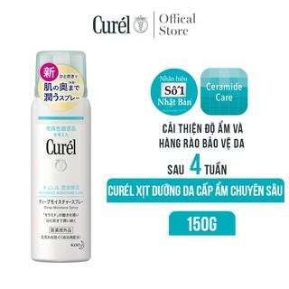 Xịt dưỡng da cấp ẩm chuyên sâu Curél Deep Moisture Spray 150g