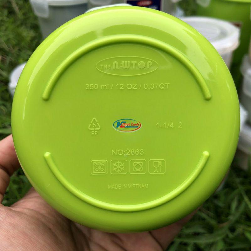 hộp lư trữ thực phẩm  lock chòn có khóa gấp 4 cạnh