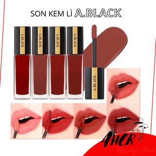 [Xả kho] Son kem A Black Artistic Velvet Tint lên màu đẹp, có dưỡng