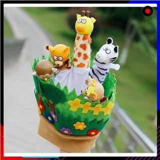 [CỰC SHOCK] Rối bàn tay vườn thú của bé siu cute giúp phát triển giác quan KDR-NC084 KODOROS