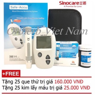 Máy đo đường huyết safe thumbnail