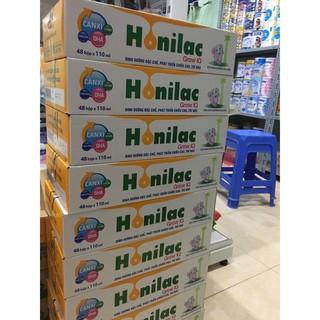 Thùng sữa bột pha sẵn Honilac 48hộp 110ml