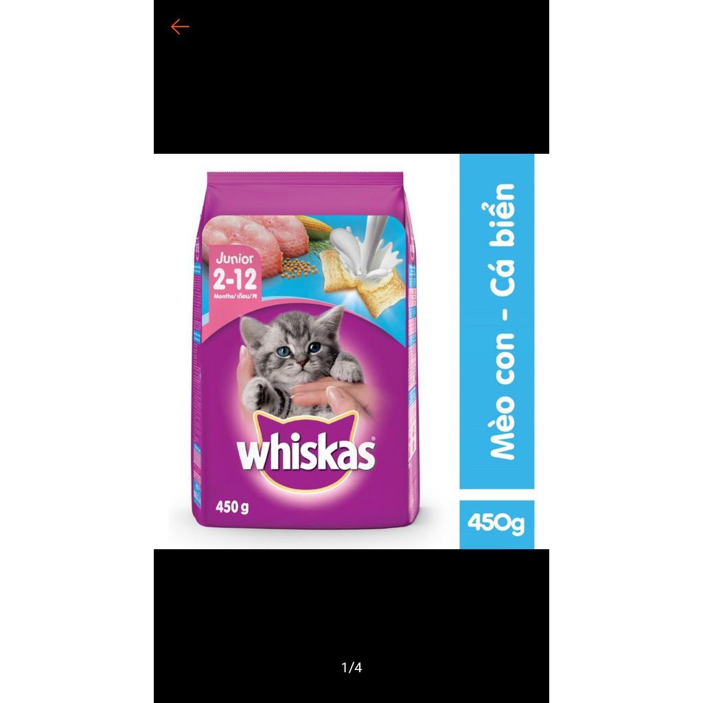 Thức ăn mèo con Whiskas 450g