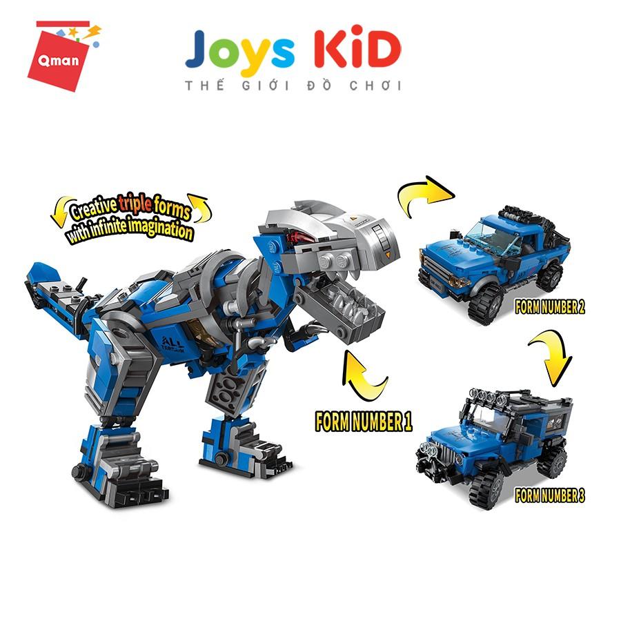 Đồ chơi xếp hình lego QMAN 4803: Machinery Technology- Joys KiD