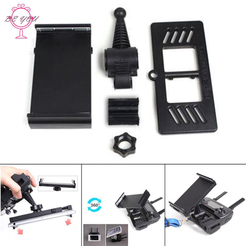 ♪BY 4-12Inch Remote Controller Bracket Tablet Phone Holder Mount Stretch Bracket Clip for DJI Pro