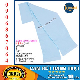 [ Nhập Khẩu Korea 100% ] Ống Tay Chống Nắng AquaX Chính Hãng Hàn Quốc - Màu Aqua thumbnail